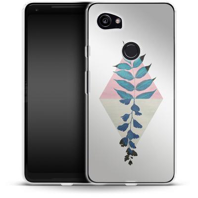 Google Pixel 2 XL Silikon Handyhuelle - Geometry and Nature 1 von Mareike Bohmer