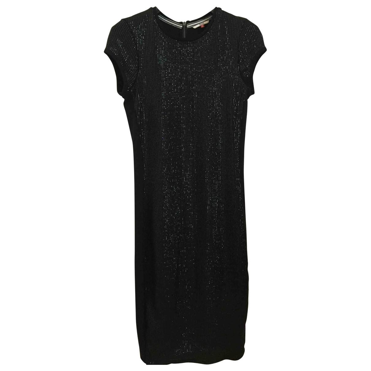 Tommy Hilfiger \N Kleid in  Schwarz Viskose