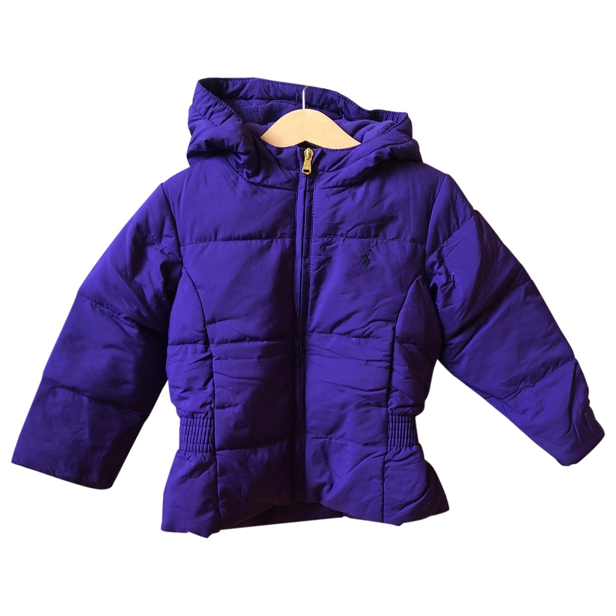 Polo Ralph Lauren \N Purple Cotton jacket & coat for Kids 3 years - until 39 inches UK