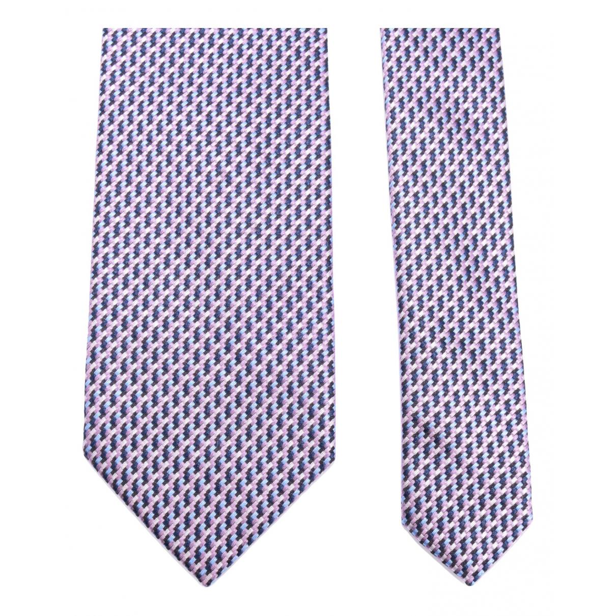 Balmain - Cravates   pour homme en soie - multicolore