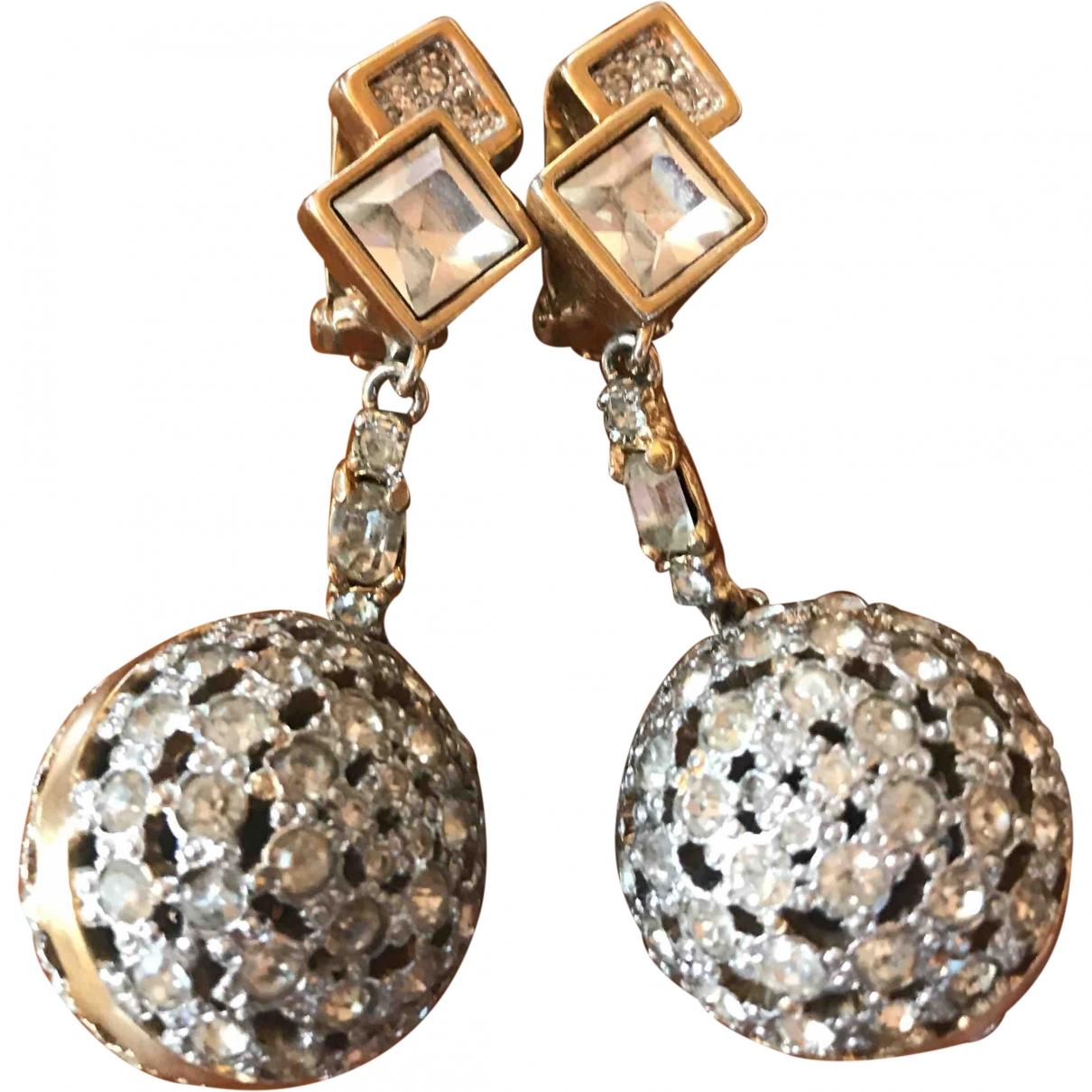 Valentino Garavani \N Silver Metal Earrings for Women \N