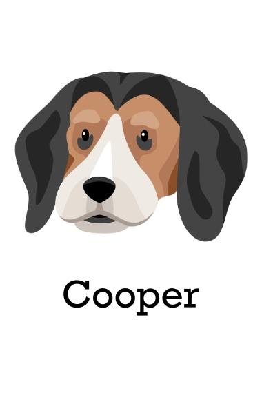 Pet 12x18 Poster, Home Décor -Beagle 3