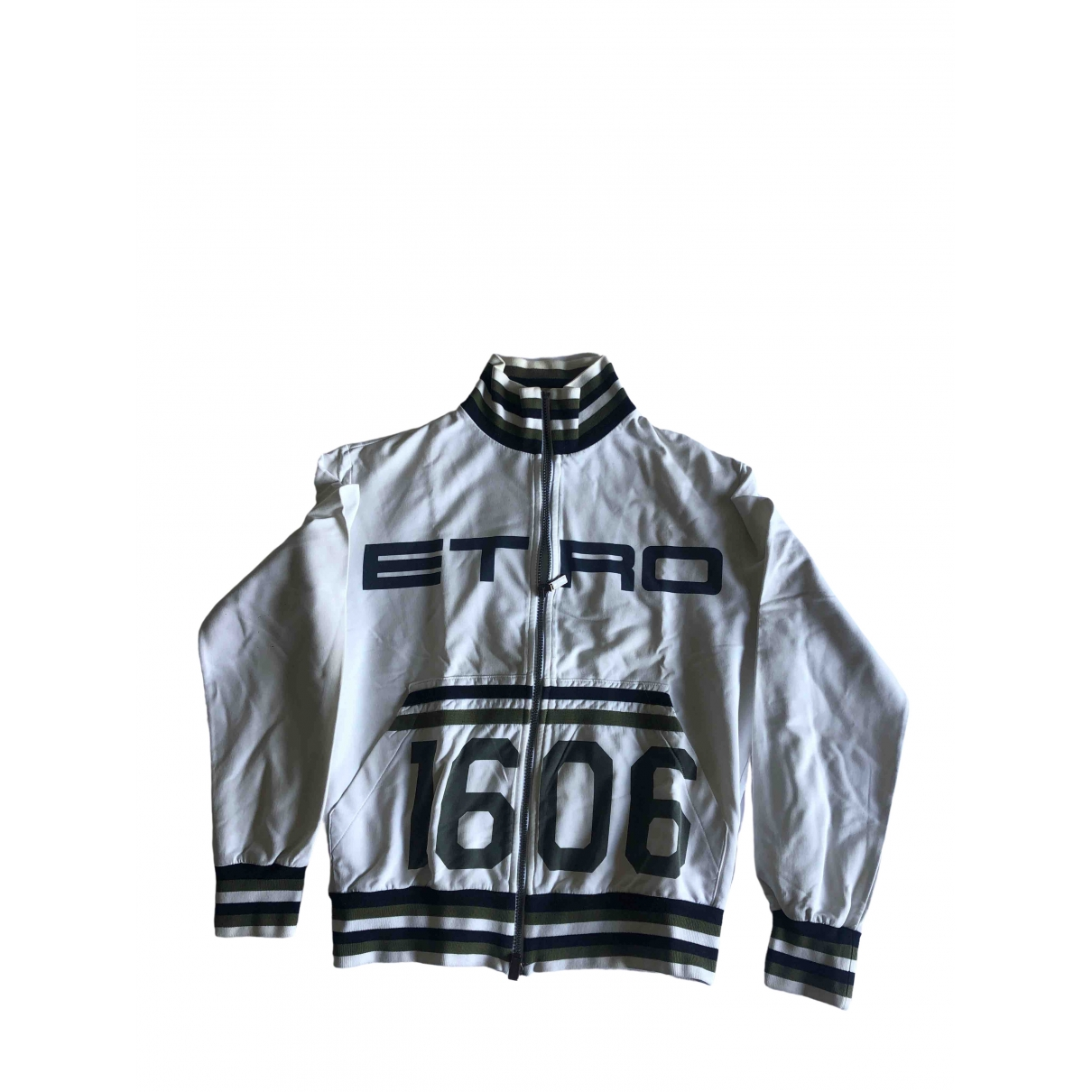 Etro \N White Cotton jacket  for Men M International