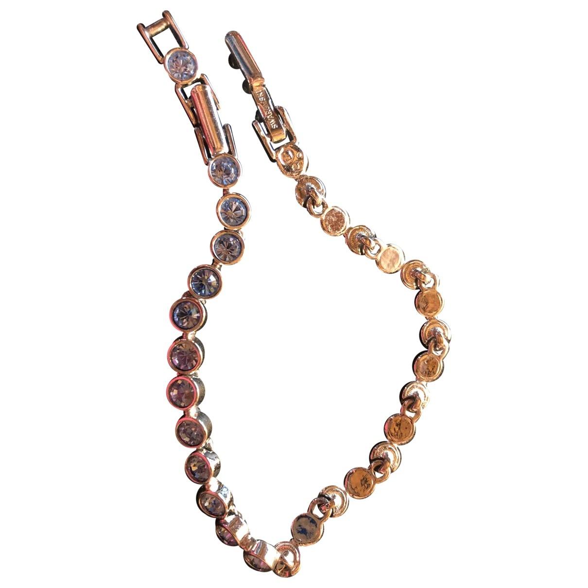 Swarovski \N Turquoise Silver bracelet for Women \N