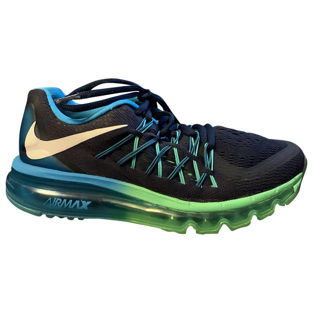 Nike - Baskets Air Max  pour femme - marine