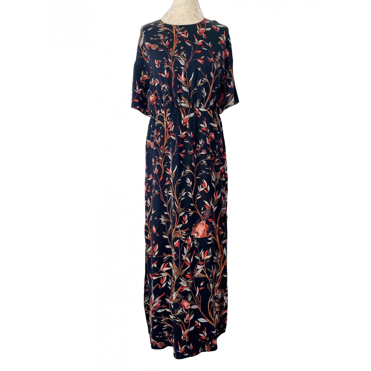 Dagmar - Robe   pour femme en soie - noir