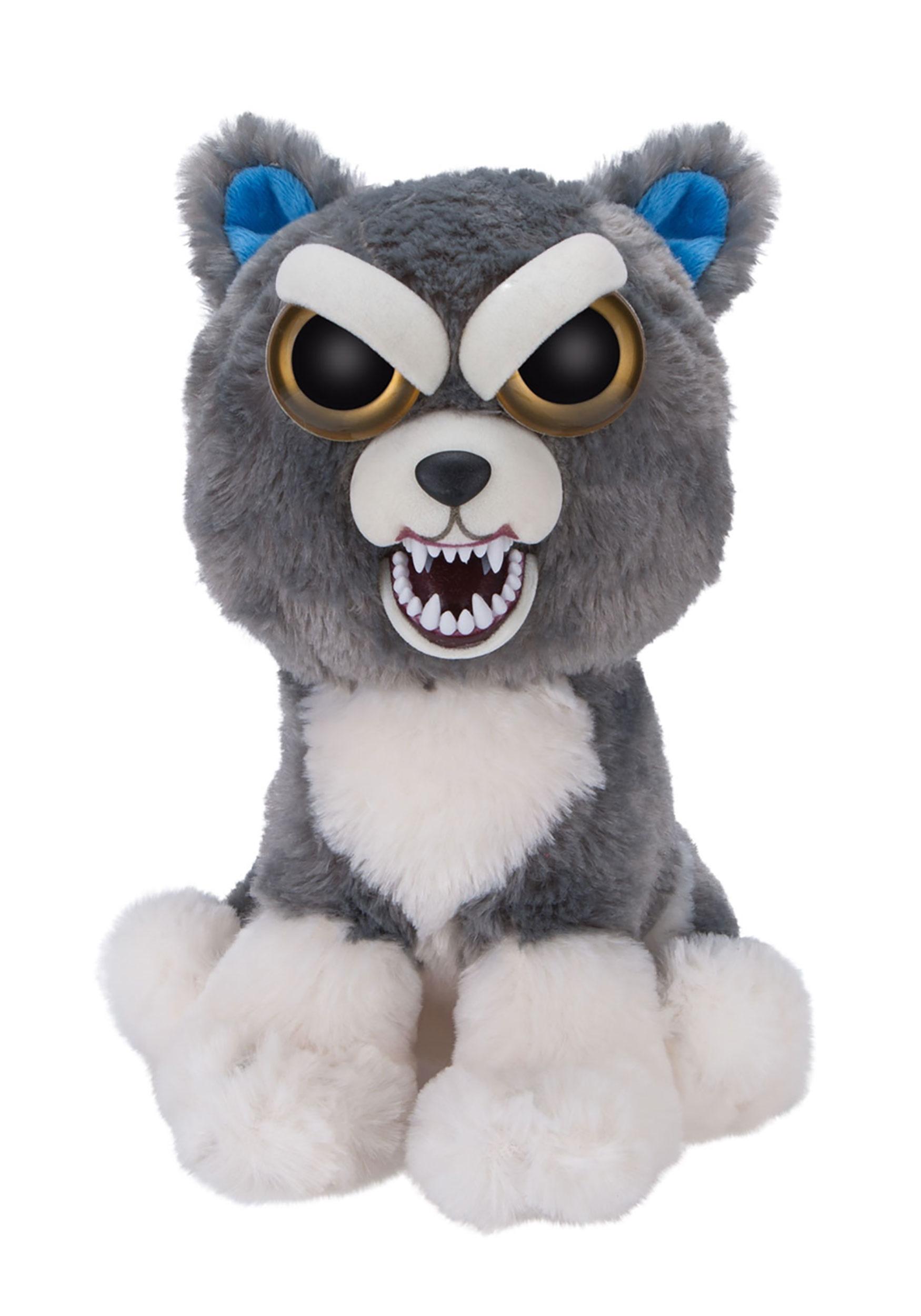 Feisty Pets Sammy Suckerpunch Husky Plush