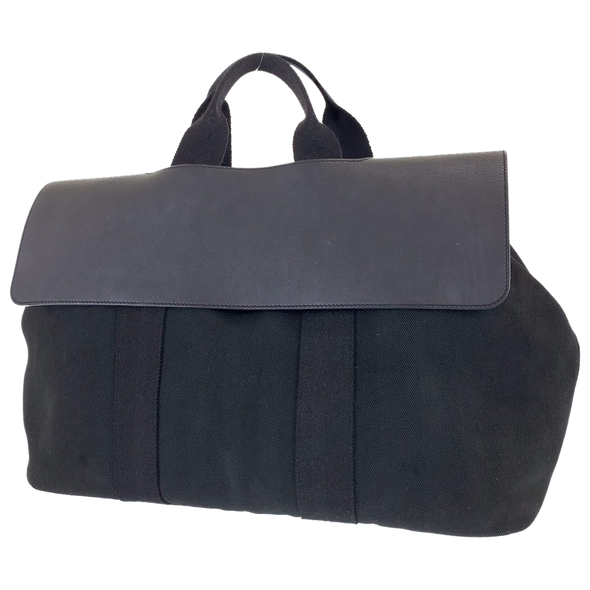 Hermès N Navy Cloth Travel bag for Women N
