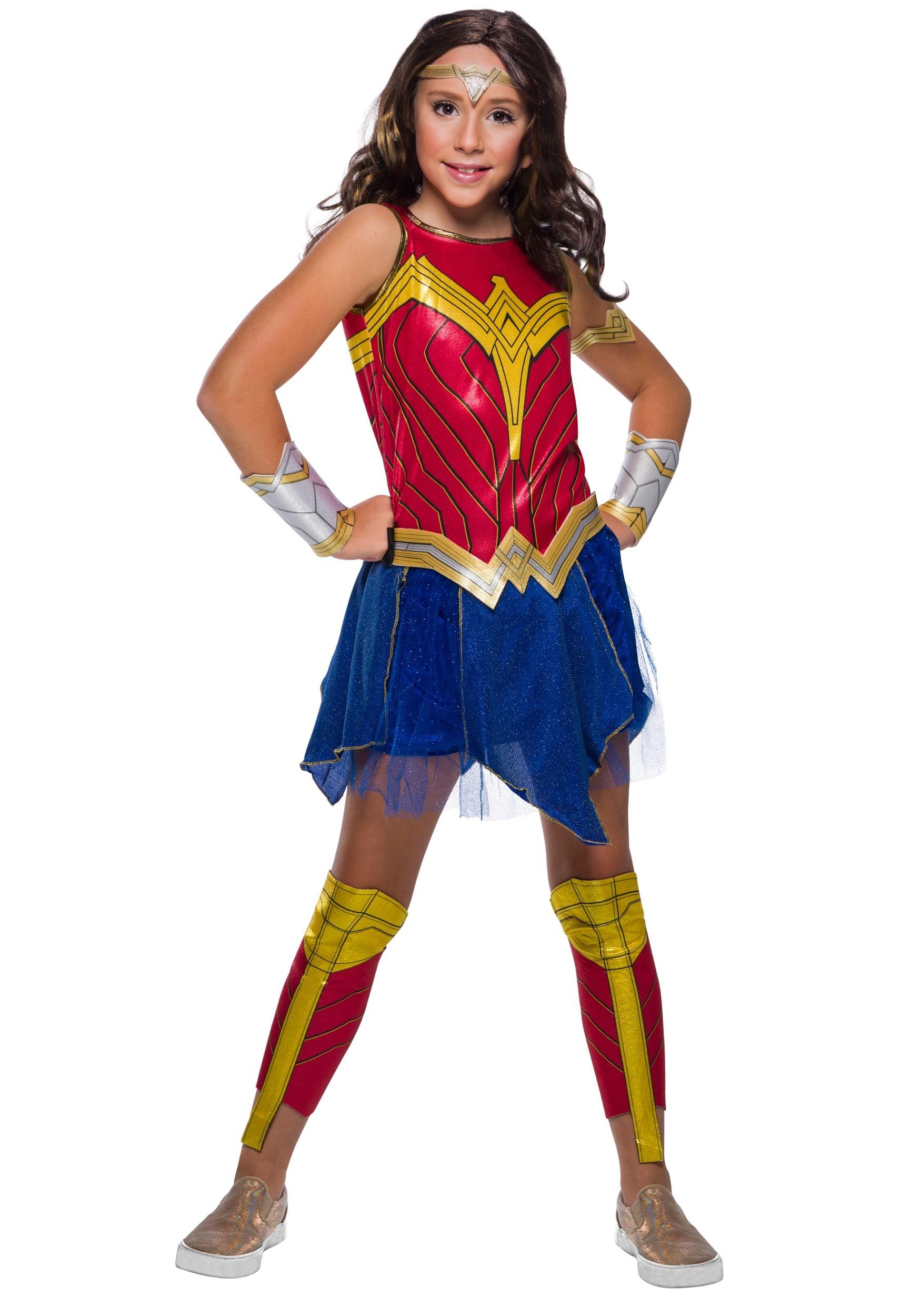 Girls Wonder Woman Deluxe Costume