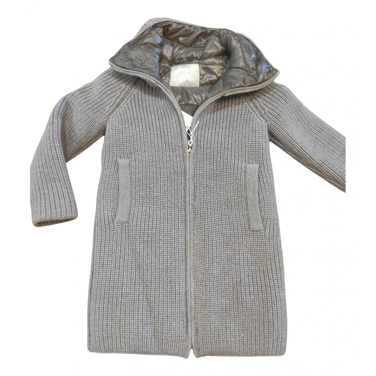 Herno - Blousons.Manteaux   pour enfant - gris