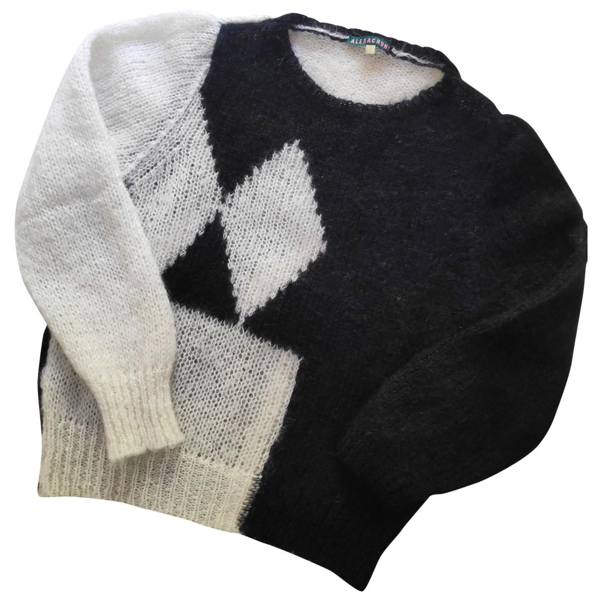 Alexa Chung \N Pullover in  Schwarz Wolle