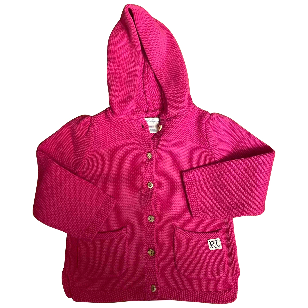 Ralph Lauren \N Pink Cotton Knitwear for Kids 2 years - up to 86cm FR