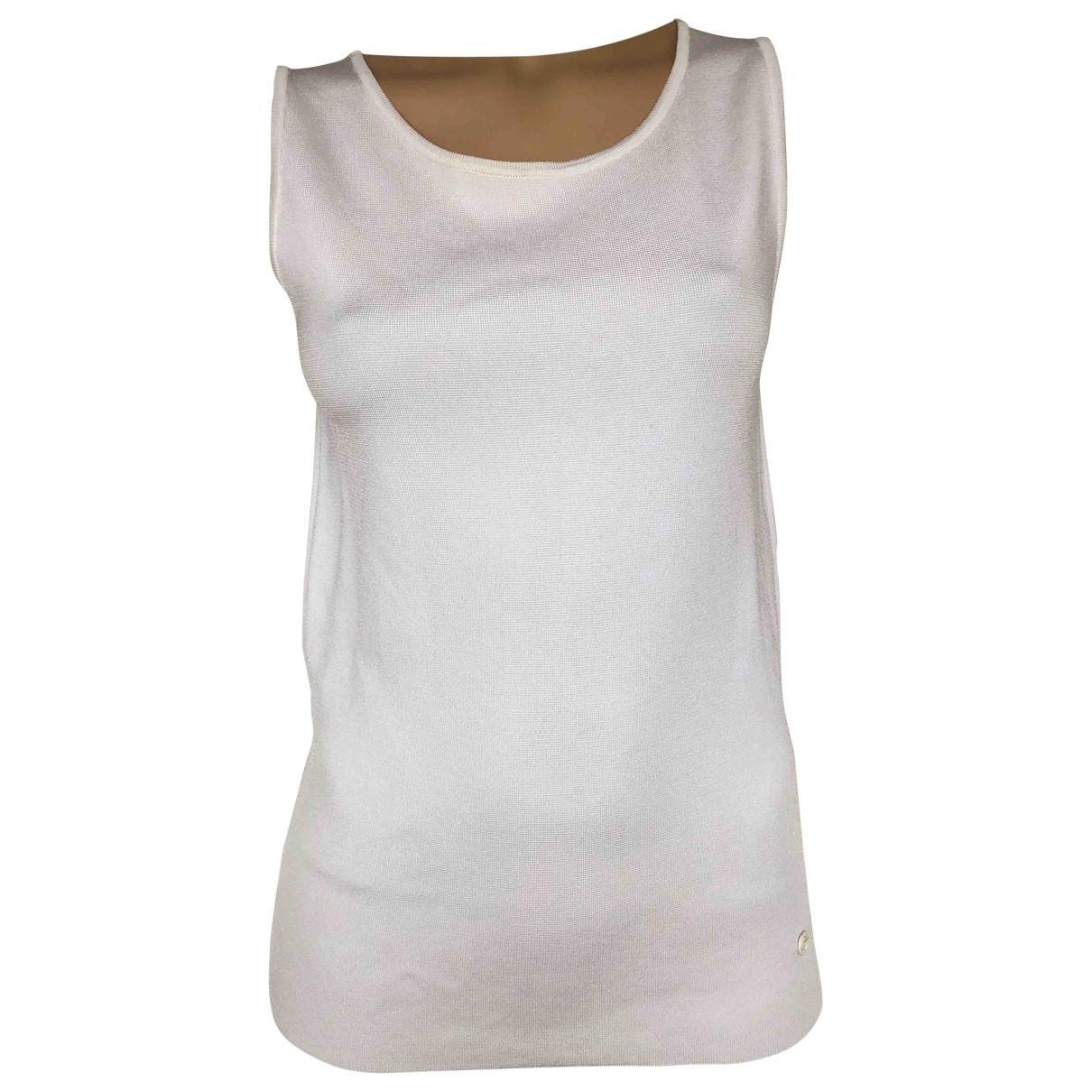 Gucci - Top   pour femme en soie - blanc