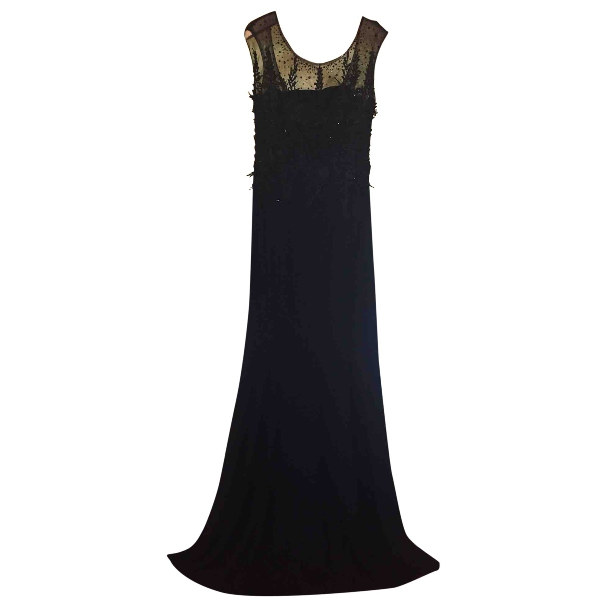 Non Signé / Unsigned \N Black Lace dress for Women S International