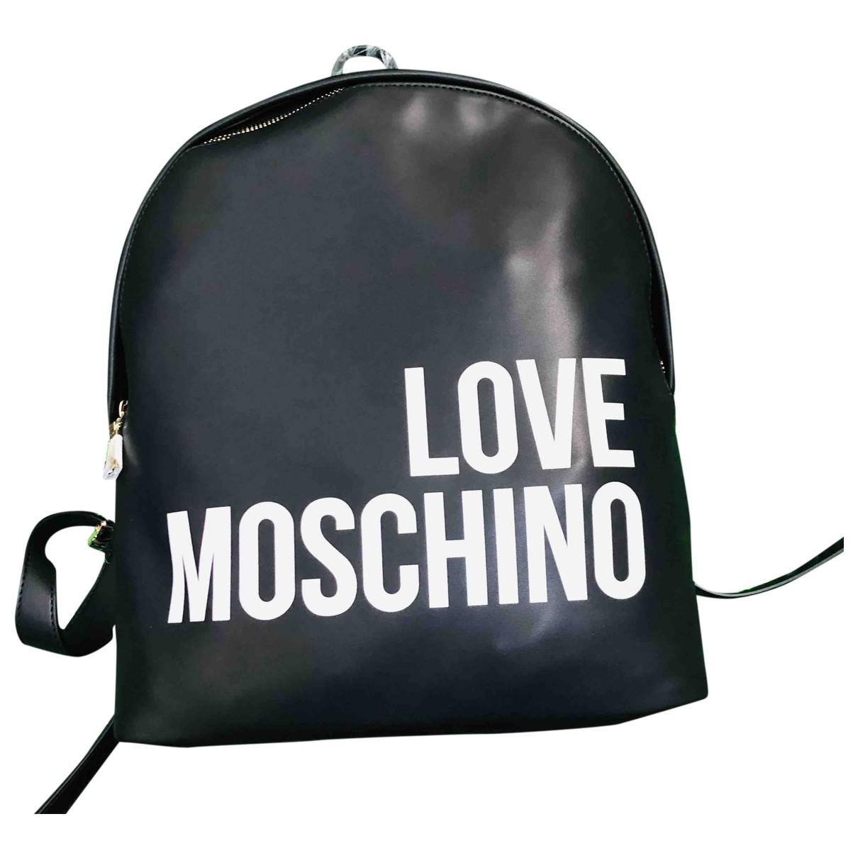 Moschino Love \N Black backpack for Women \N