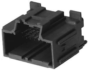 Molex , Stac64 Automotive Connector Plug 2 Row 20 Way, Solder Termination, Black