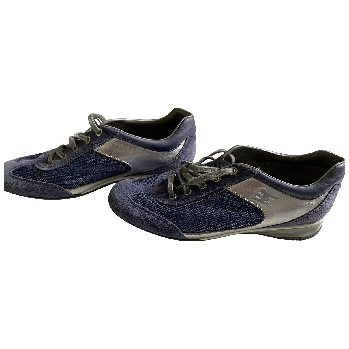 Hogan \N Sneakers in Leinen