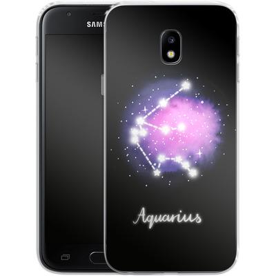 Samsung Galaxy J3 (2017) Silikon Handyhuelle - AQUARIUS von Becky Starsmore