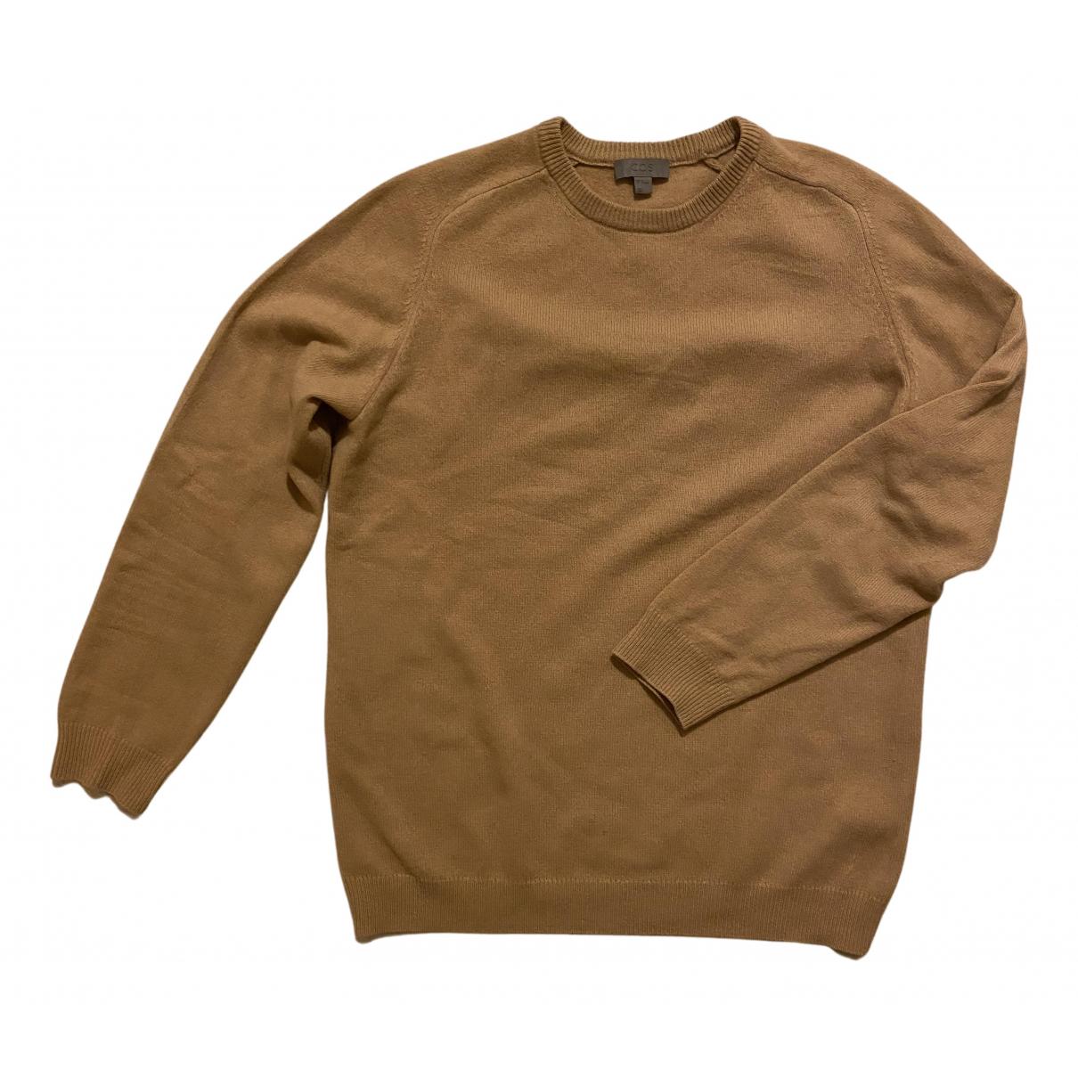 Cos - Pulls.Gilets.Sweats   pour homme en laine - camel