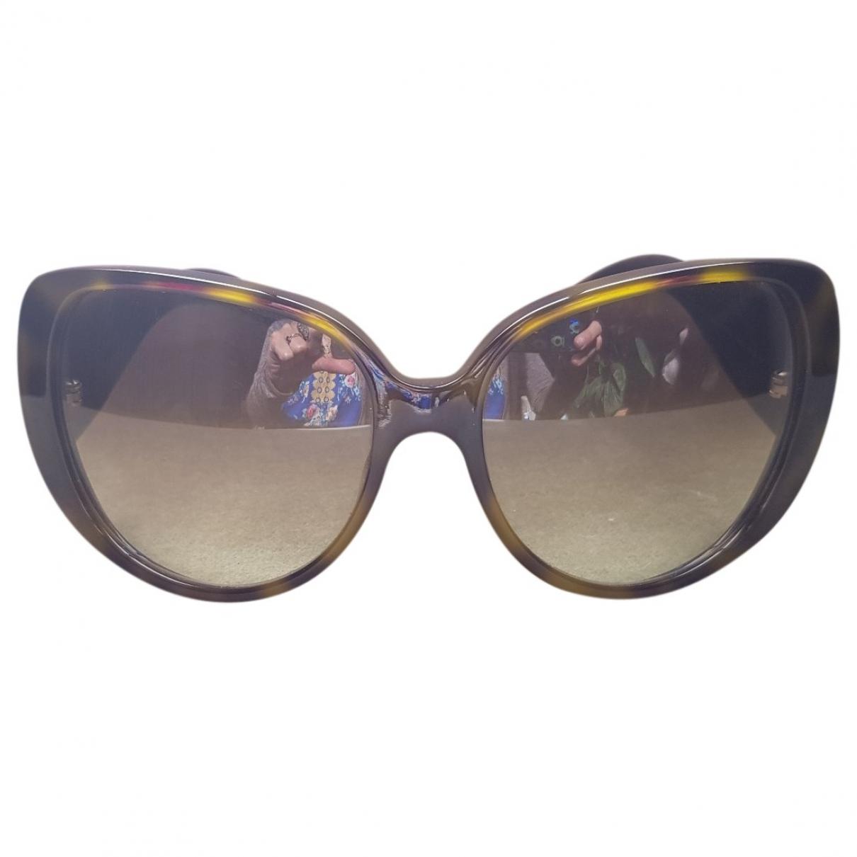 Gucci \N Sonnenbrillen in  Gruen Kunststoff