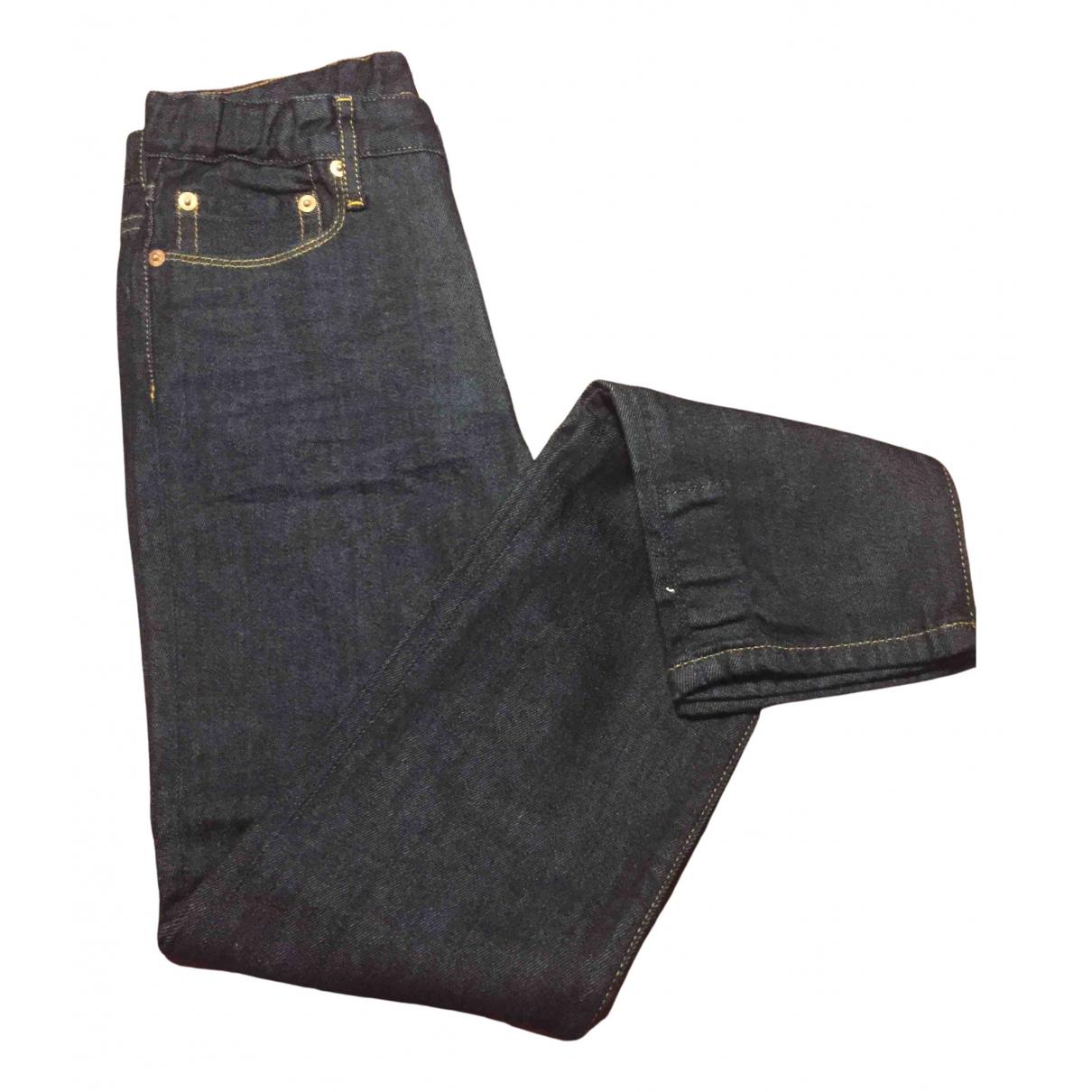 Bellerose - Pantalon   pour enfant en coton - bleu