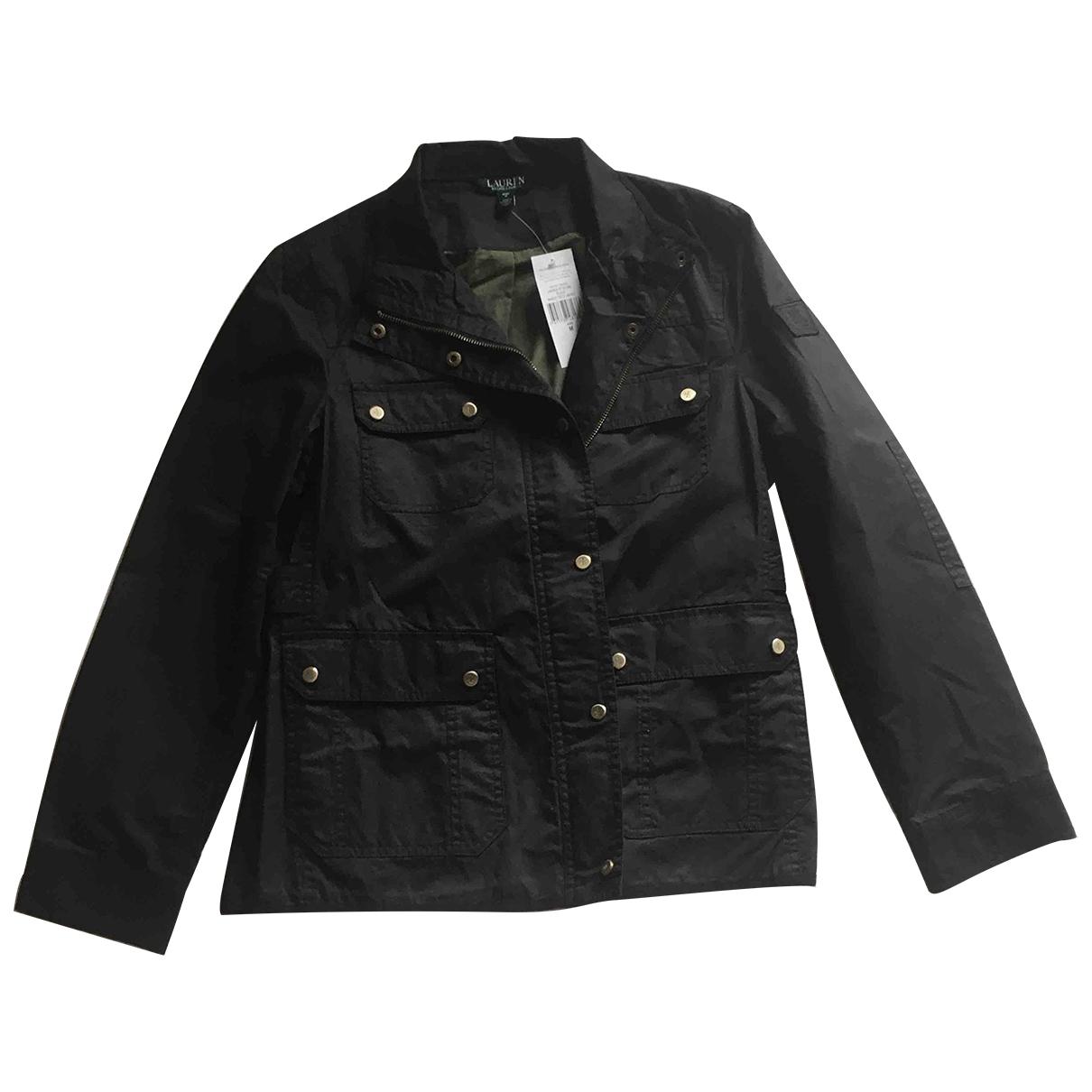 Lauren Ralph Lauren \N Black Cotton jacket for Women M International
