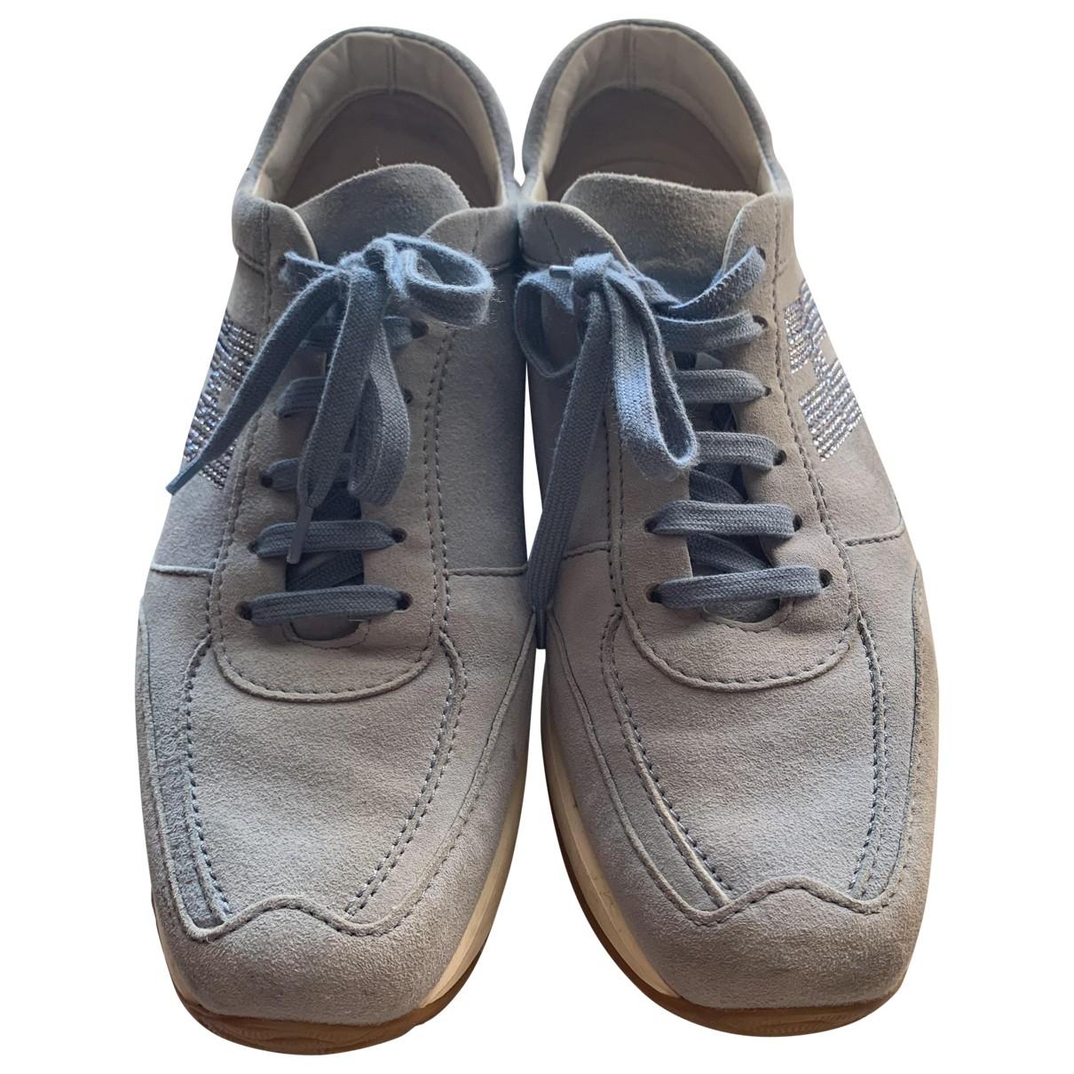 Hogan \N Sneakers in Veloursleder
