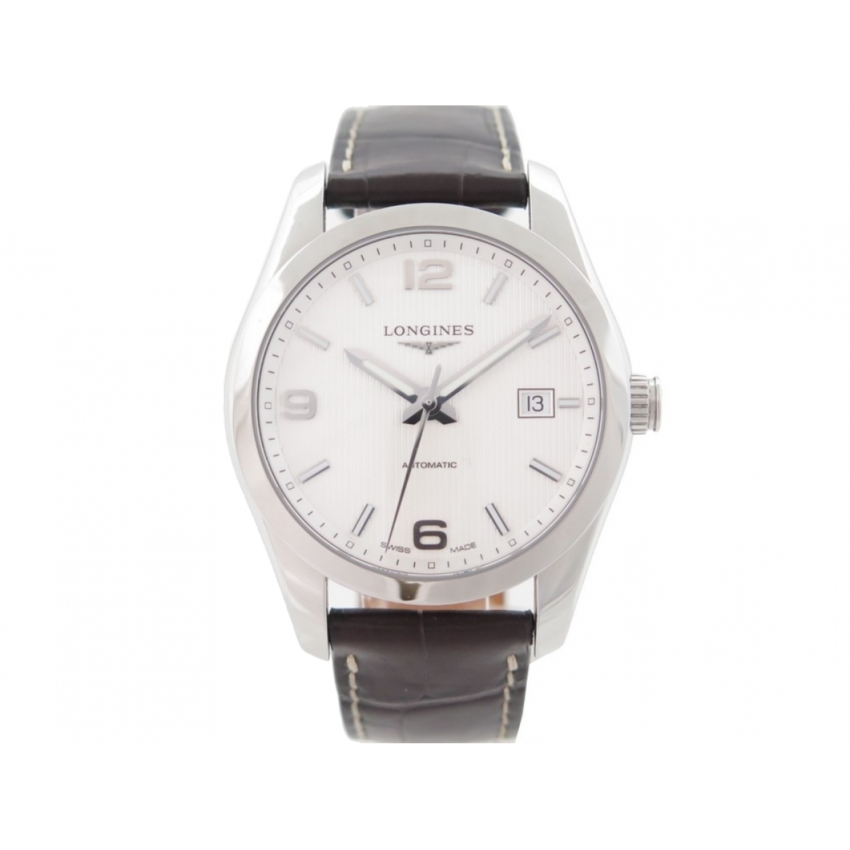 Longines Conquest  Uhr in  Silber Stahl