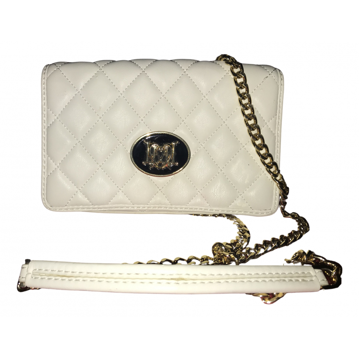Moschino Love N White Faux fur handbag for Women N