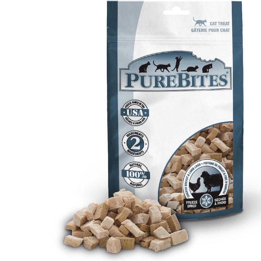 PureBites Chicken Breast & Lamb Cat Treat (0.98 oz)