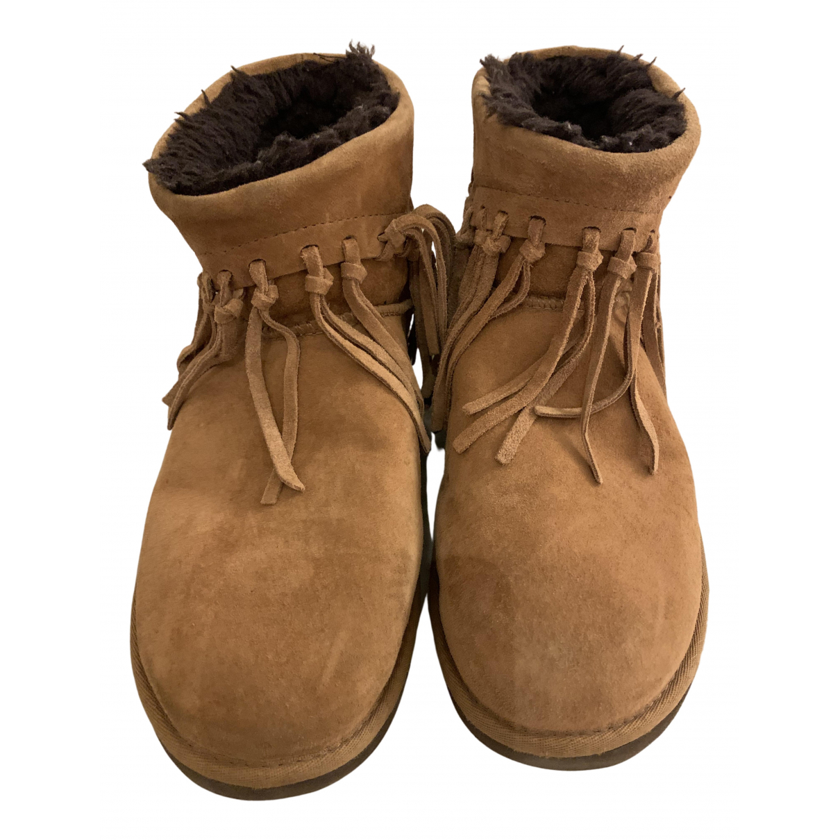 Ugg N Camel Suede Ankle boots for Women 40 EU