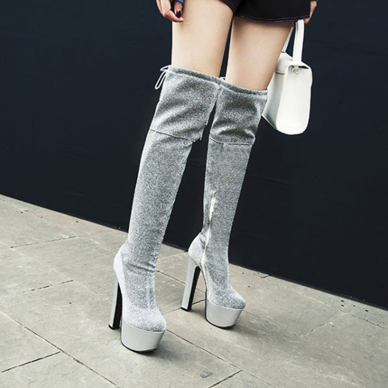 Ericdress Closed Toe Plain Side Zipper Zipper Boots
