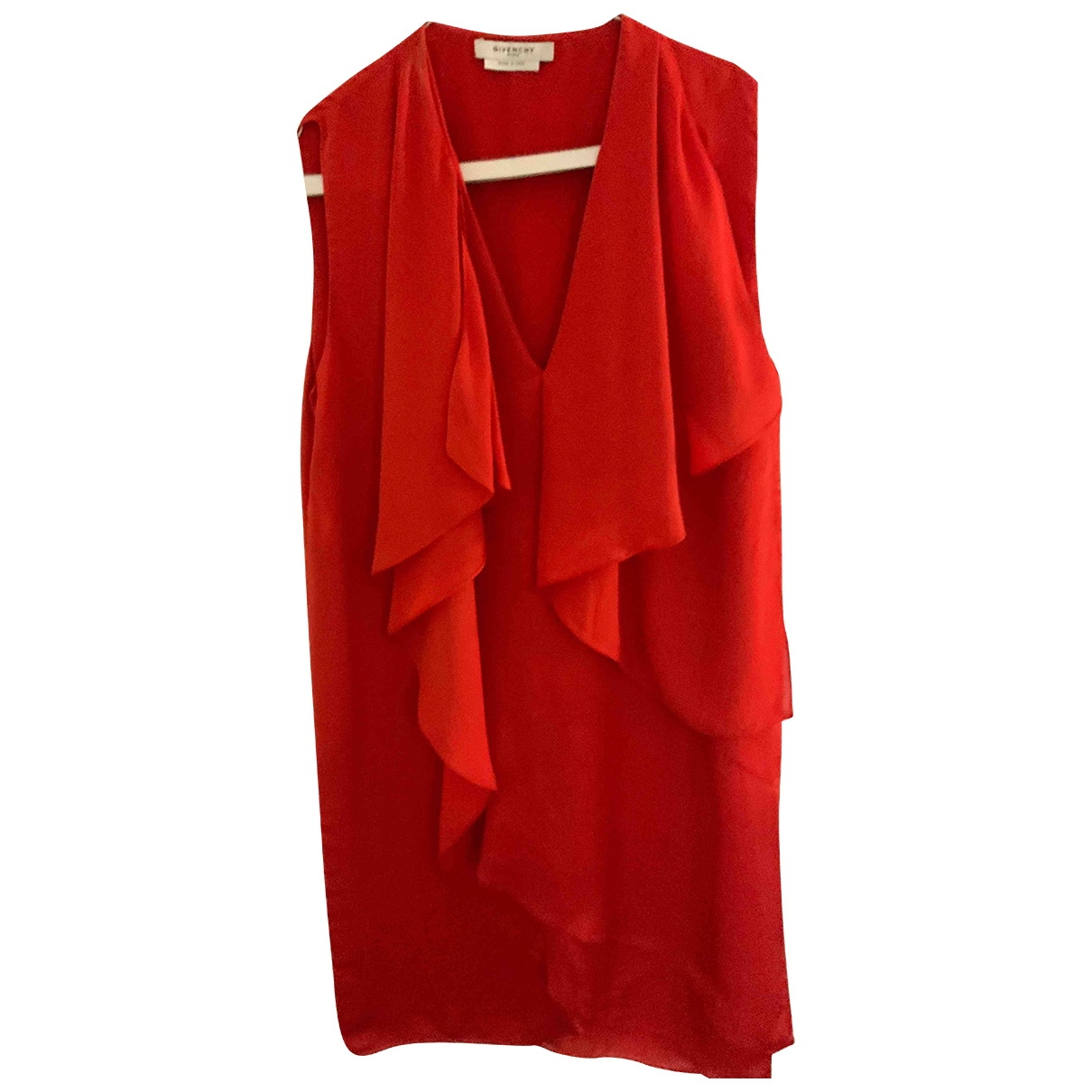 Givenchy \N Kleid in  Rot Polyester