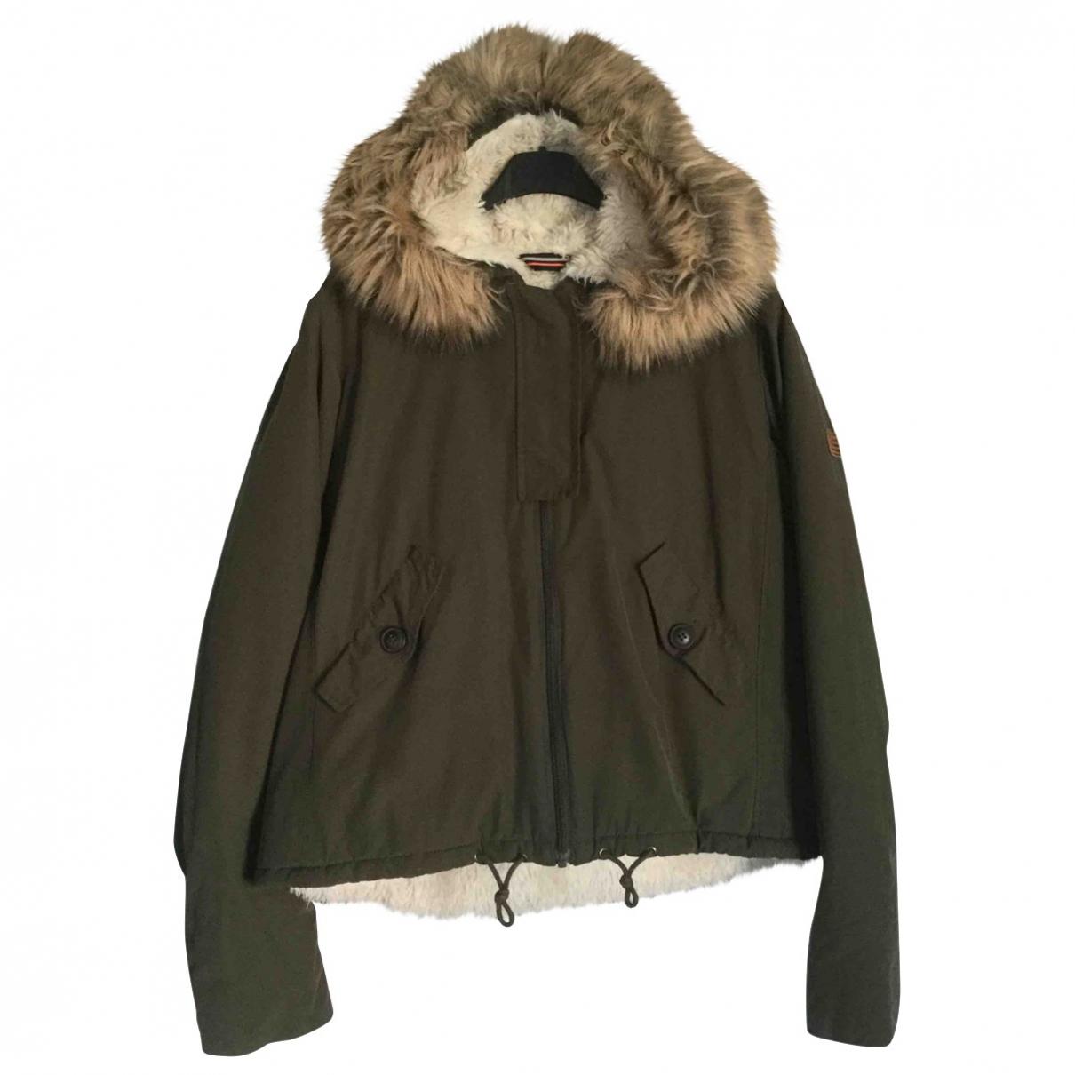 American Outfitters - Blousons.Manteaux   pour enfant en coton - vert