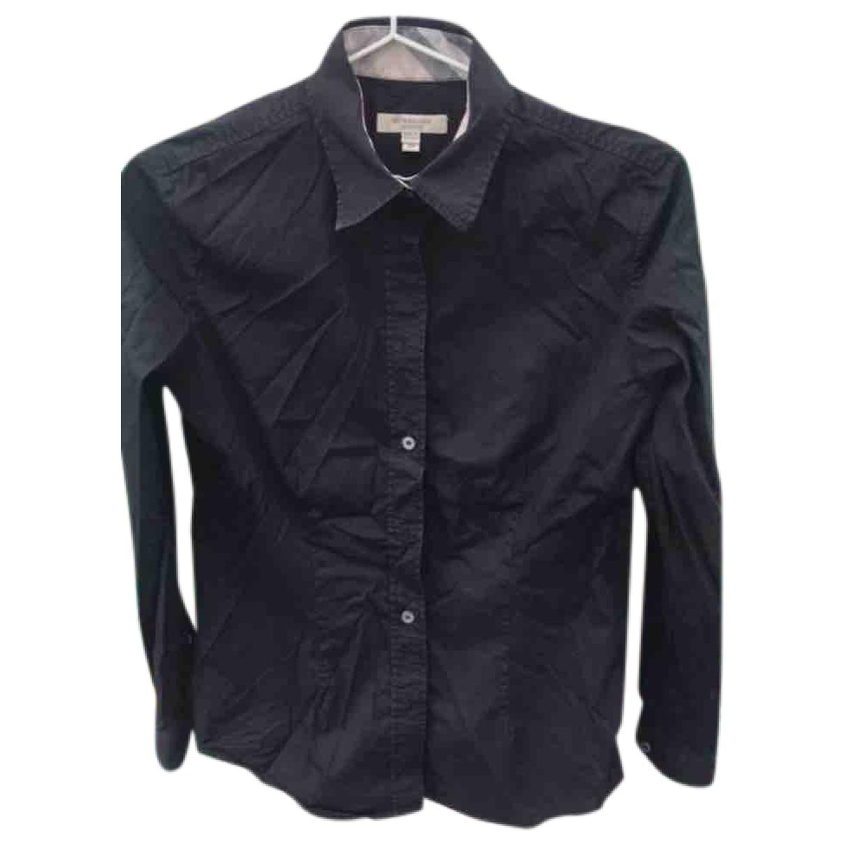 Burberry \N Black Cotton  top for Women 34 FR