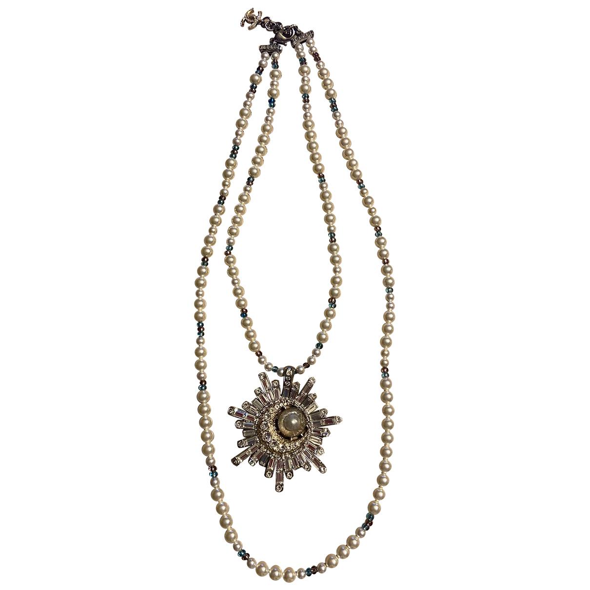 Chanel - Collier   pour femme en metal - metallise