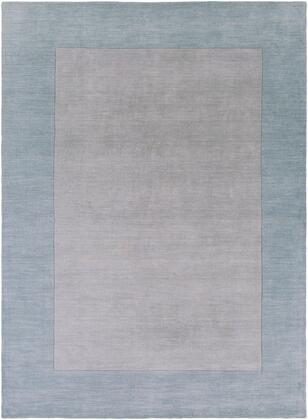 Mystique M-305 12' x 15' Rectangle Modern Rug in Medium Gray