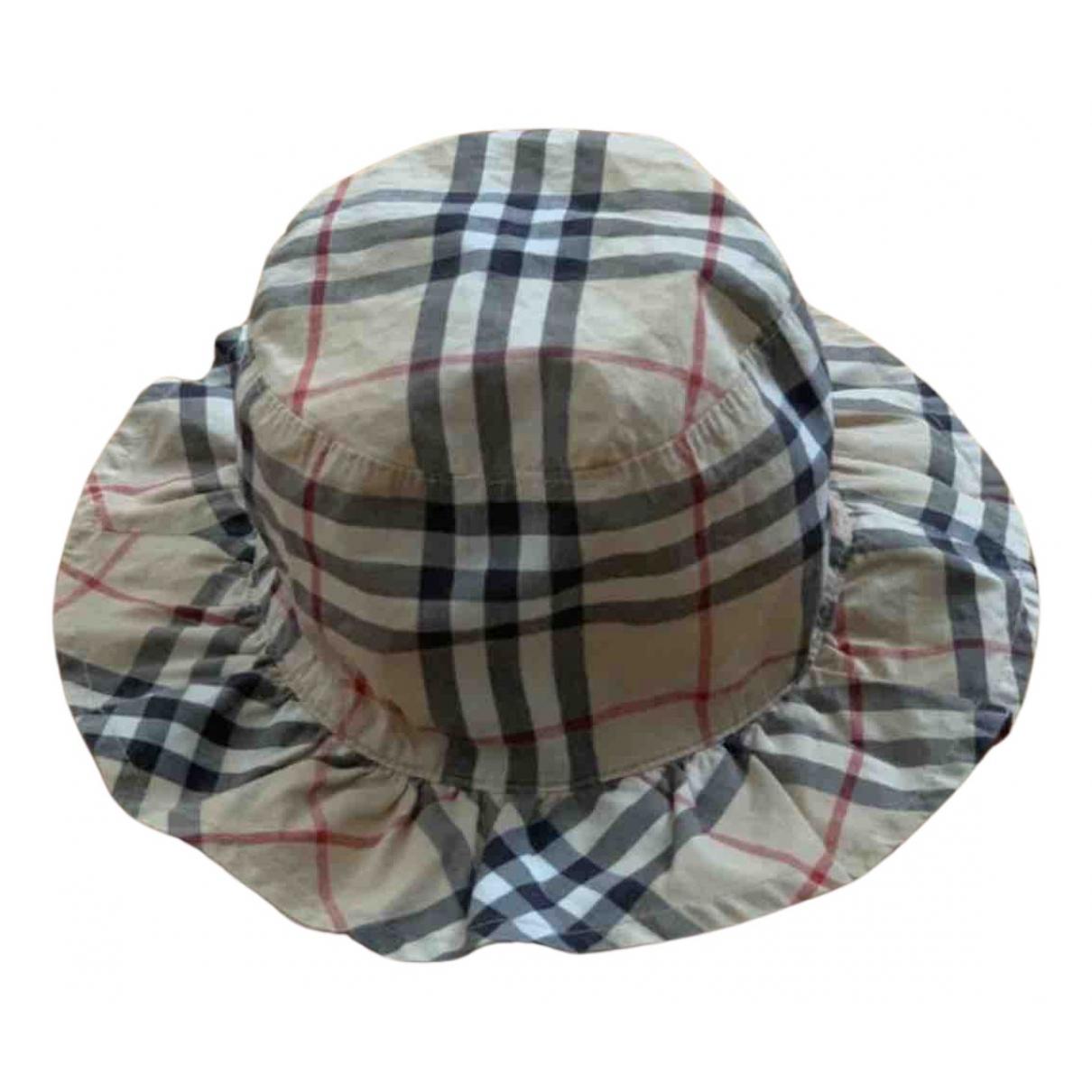 Burberry - Chapeaux.Bonnets.Gants   pour enfant en coton - multicolore