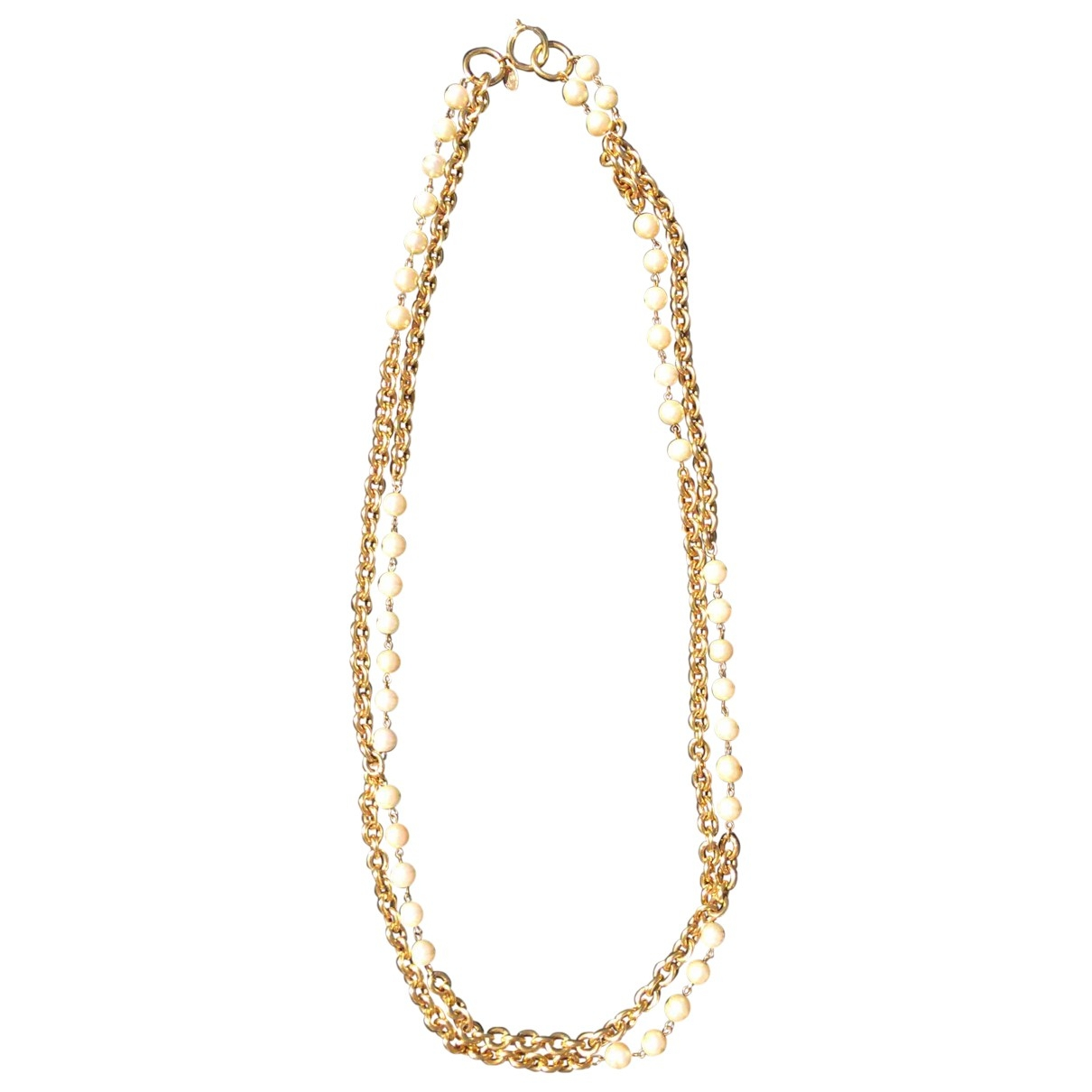 Chanel \N Halskette in  Gold Metall