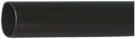 HellermannTyton Adhesive Lined Heat Shrink Tubing, Black 19mm Sleeve Dia. x 1m Length 3.5:1 Ratio, TREDUX-HA47 Series