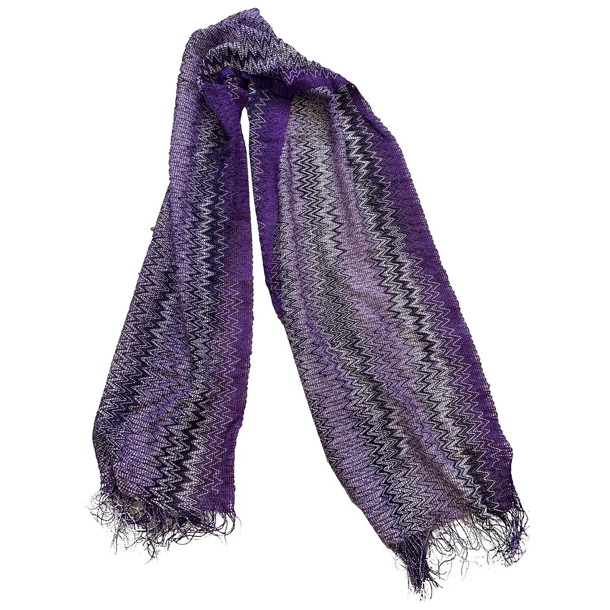 Missoni \N Purple scarf for Women \N