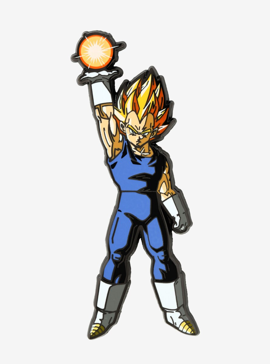 FiGPiN Dragon Ball Z Super Saiyan Vegeta Enamel Pin