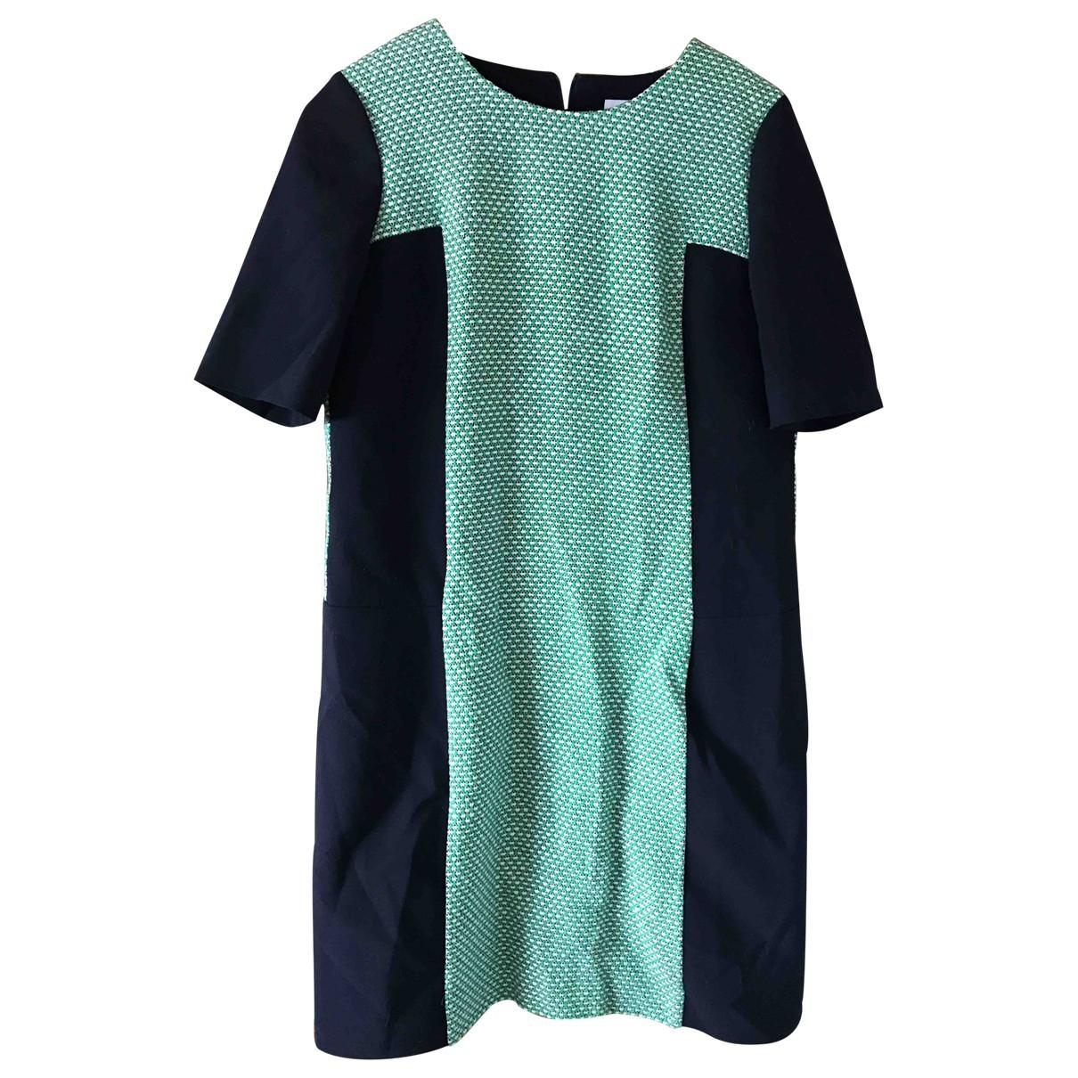 Jaeger \N Kleid in  Gruen Baumwolle
