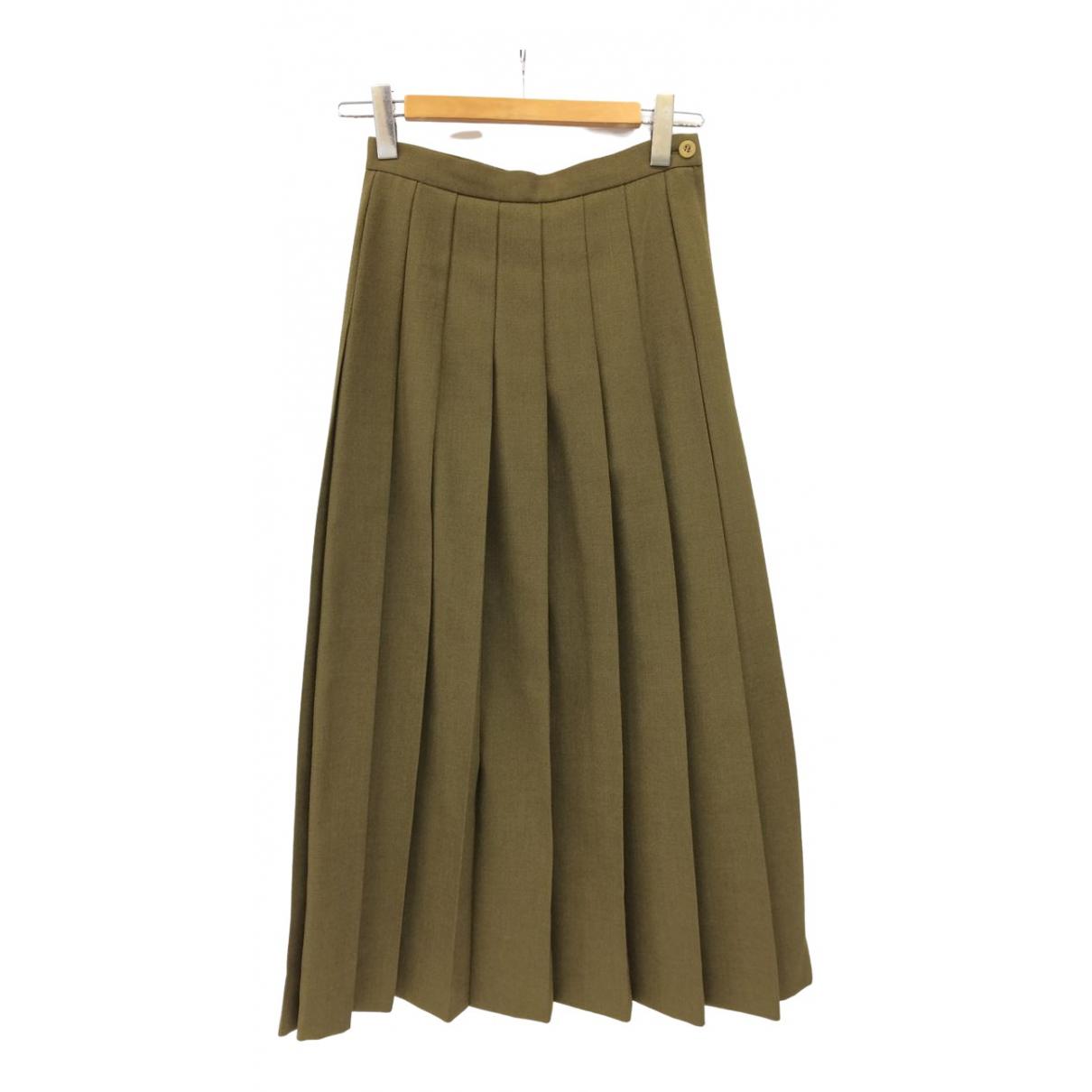 Junya Watanabe N Khaki Wool skirt for Women M International