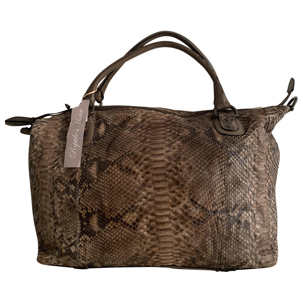 Reptile's House \N Python handbag for Women \N