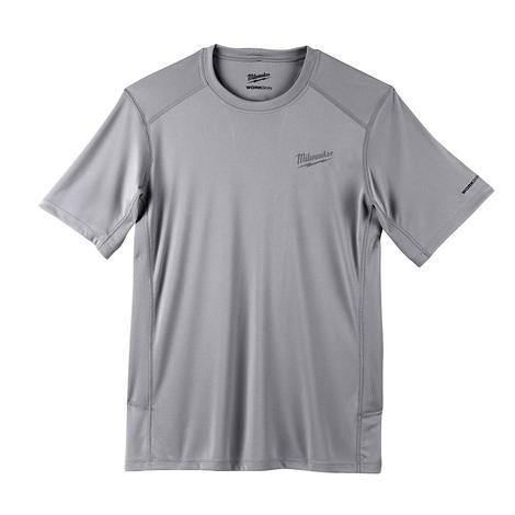 Milwaukee Workskin™ Lightweight Performance Shirt - Short Sleeve - Gray S