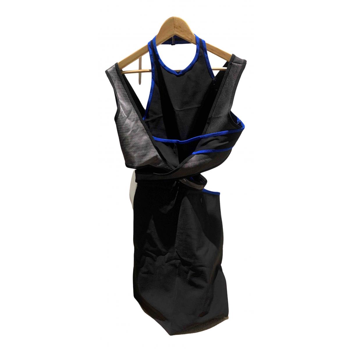 Alexander Wang Pour H&m \N Kleid in  Schwarz Polyester