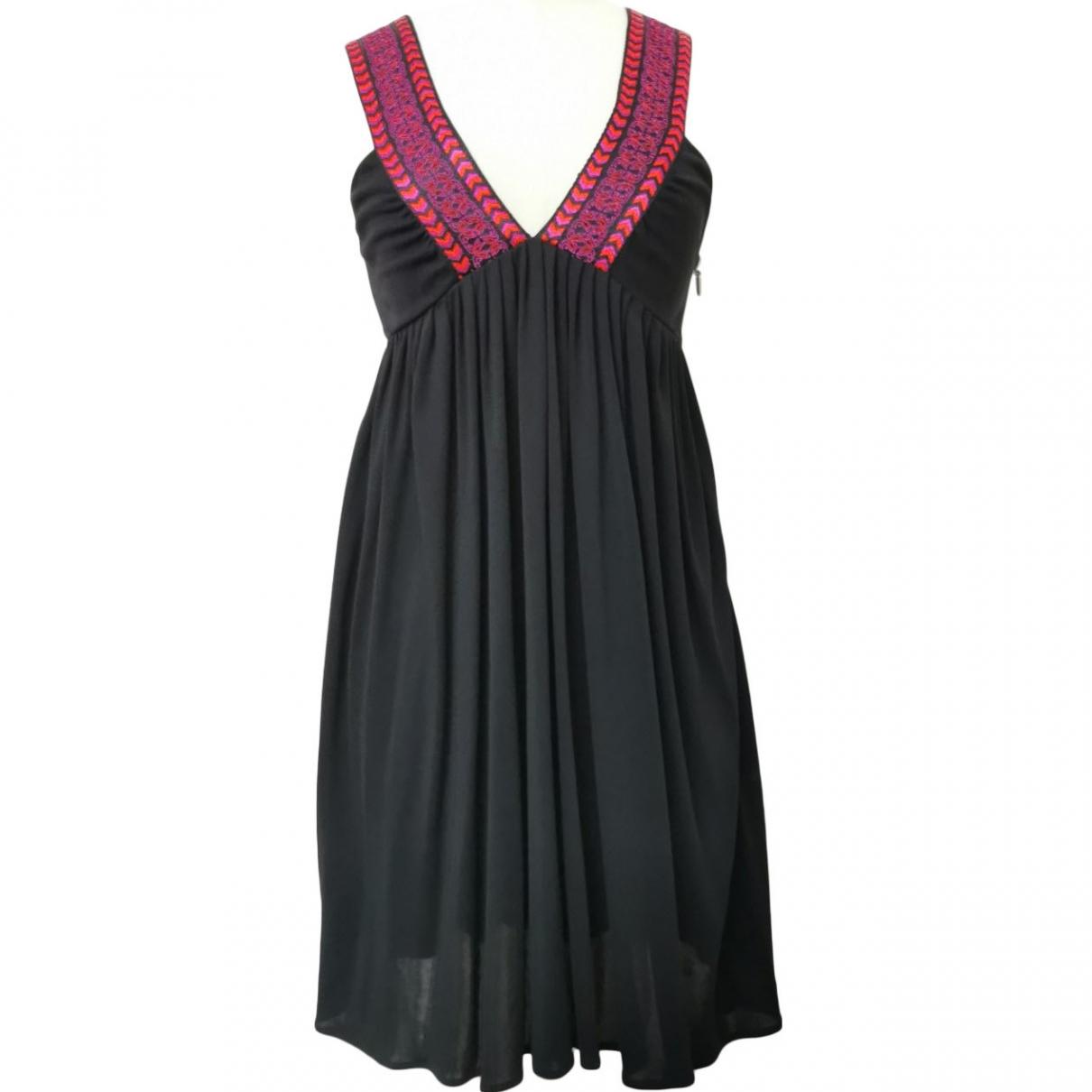 Gucci \N Kleid in  Schwarz Seide