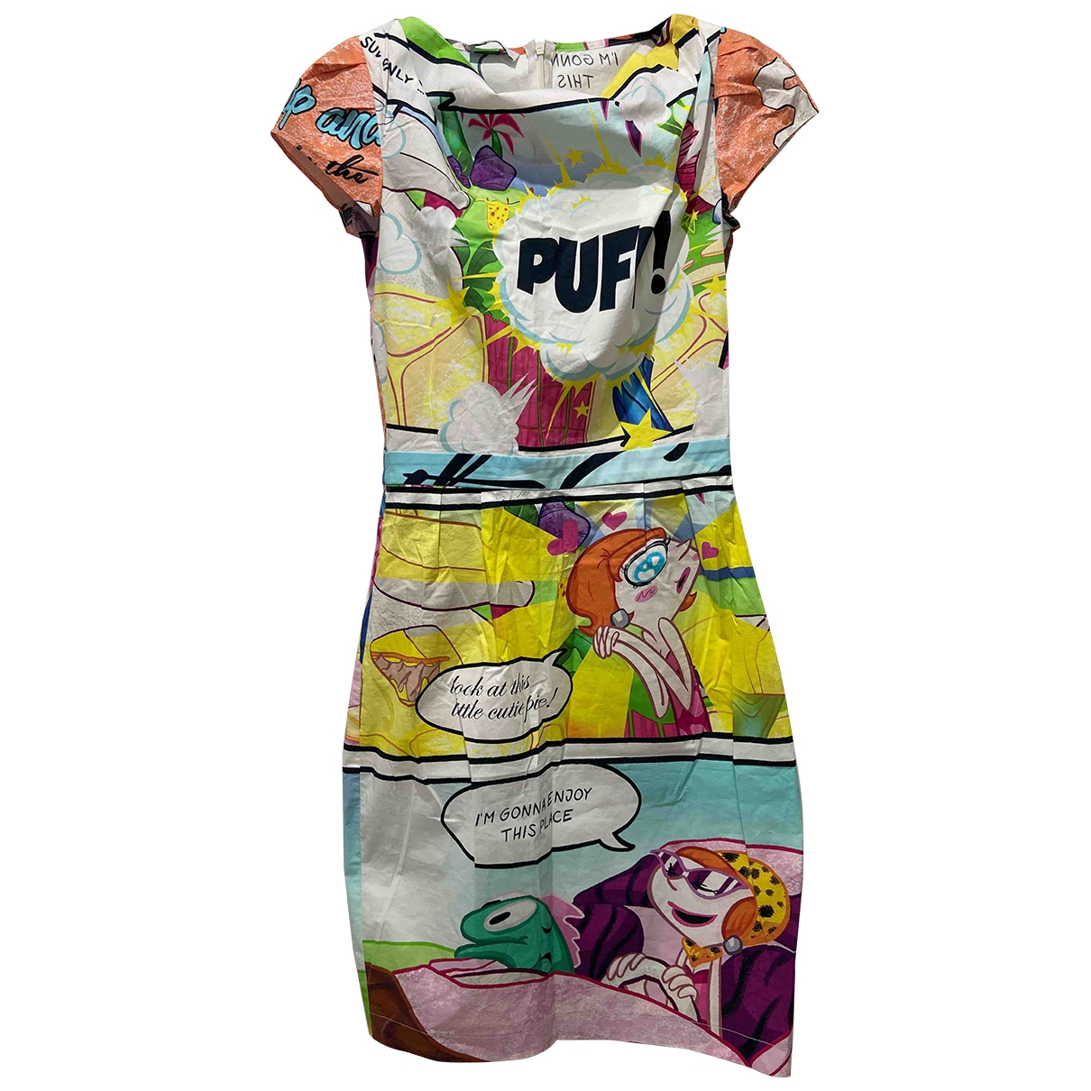 Moschino Cheap And Chic \N Multicolour Cotton dress for Women 40 IT