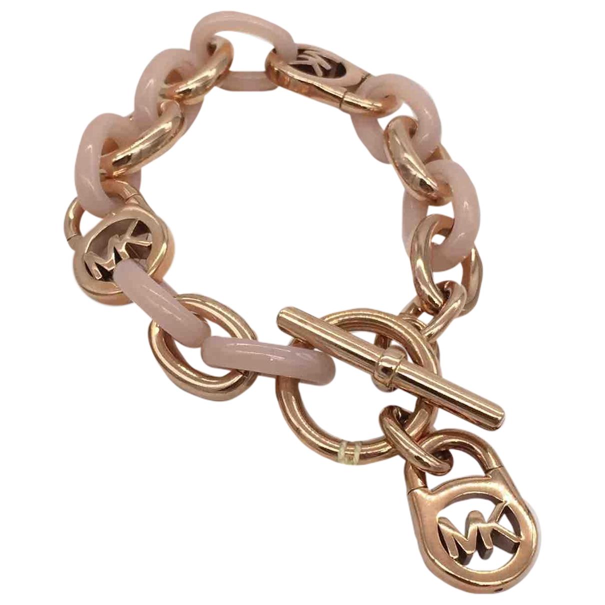 Michael Kors \N Armband in  Rosa Metall